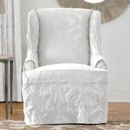 Sure Fit MATELASSE DAMASK WING SLIPCOVER at Sears.com