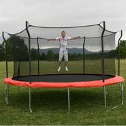 Propel Trampolines 15ft Trampoline with Enclosure and Anchor Kit at Kmart.com