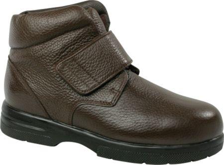 Drew Men's Big Easy - Brown Pebbled Leather