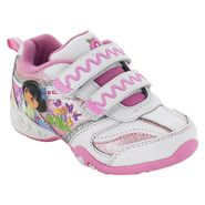 Nickelodeon Toddler Girl's Dora Athletic Shoe - White at Kmart.com