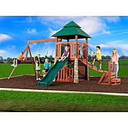Swing-N-Slide Sherwood Palace Wood Complete Swing Set at Kmart.com