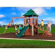 Swing-N-Slide Sherwood Palace Wood Complete Swing Set at Sears.com
