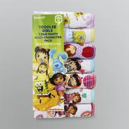 Nickelodeon Toddler Girl's Character Panty - 7 Pairs at Kmart.com