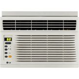 LG 6,000 BTU Window-Mounted Air Conditioner with Remote Control (115 volts) at mygofer.com