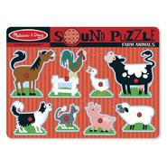 Melissa & Doug Farm Animals Sound Puzzle at Sears.com