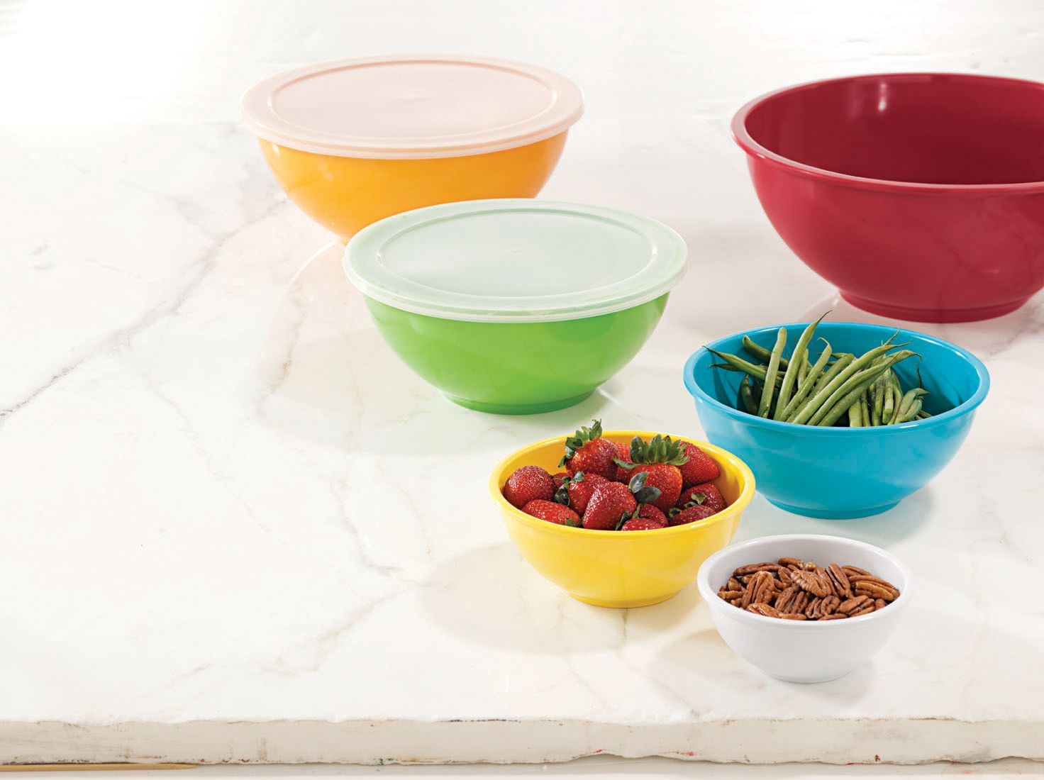 Sandra by Sandra Lee  6pc Melamine Bowl Set