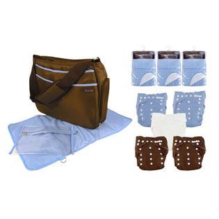 Trend Lab Cloth Diaper Boy Starter Kit