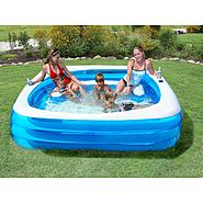 ClearWater 90IN X 22IN Deluxe Square Party Pool at Kmart.com