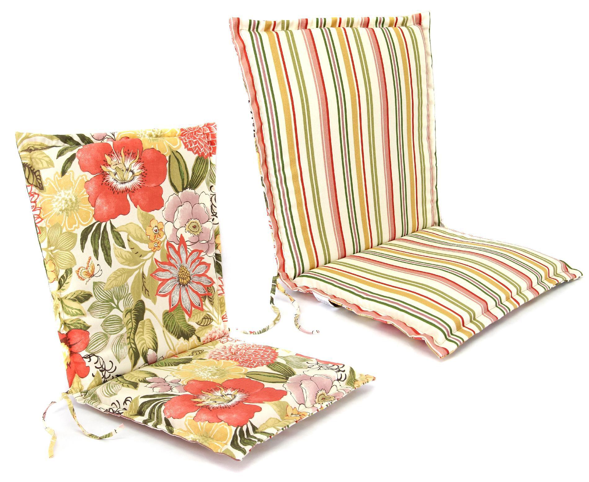 Jordan Manufacturing Co., Inc. Flanged Hinged Chair Cushion