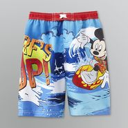 Walt Disney Co Mickey Mouse Toddler Boy's Surf's Up Swim Shorts at Sears.com