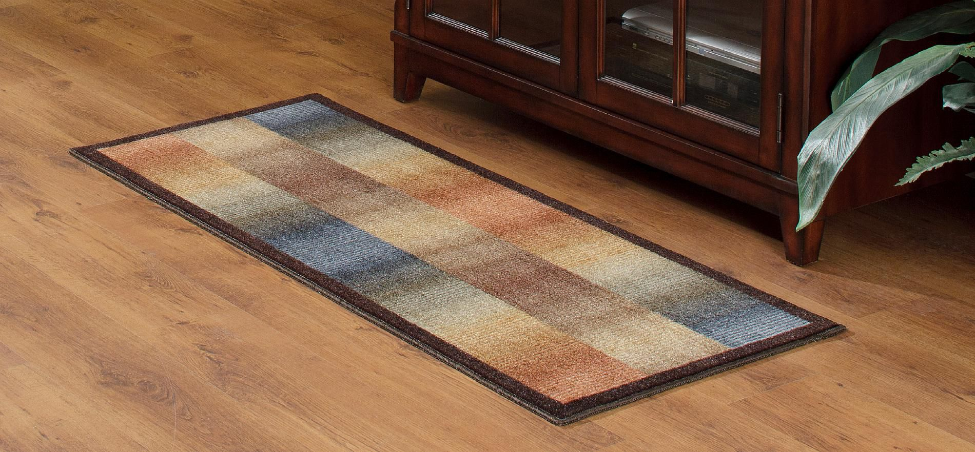 Essential Home Ombre 22X60 Area and Accent Rugs