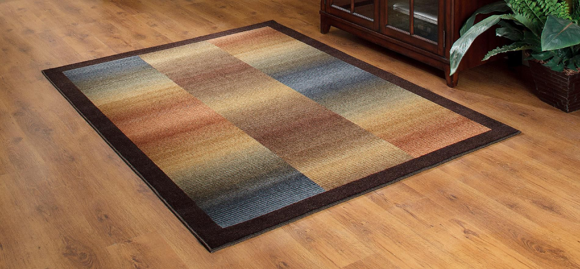 Essential Home Ombre 5X7 Area and Accent Rugs