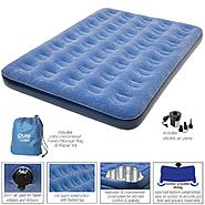 Pure Comfort Low Profile Full Size Flock Top Air Bed 6007FLB at Kmart.com