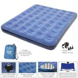 Pure Comfort Pure Comfort Low Profile Queen Size Flock Top Air Bed 6008QLB at mygofer.com