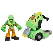 Transformers RESCUE BOTS PLAYSKOOL HEROES WALKER CLEVELAND and Jackhammer at Kmart.com