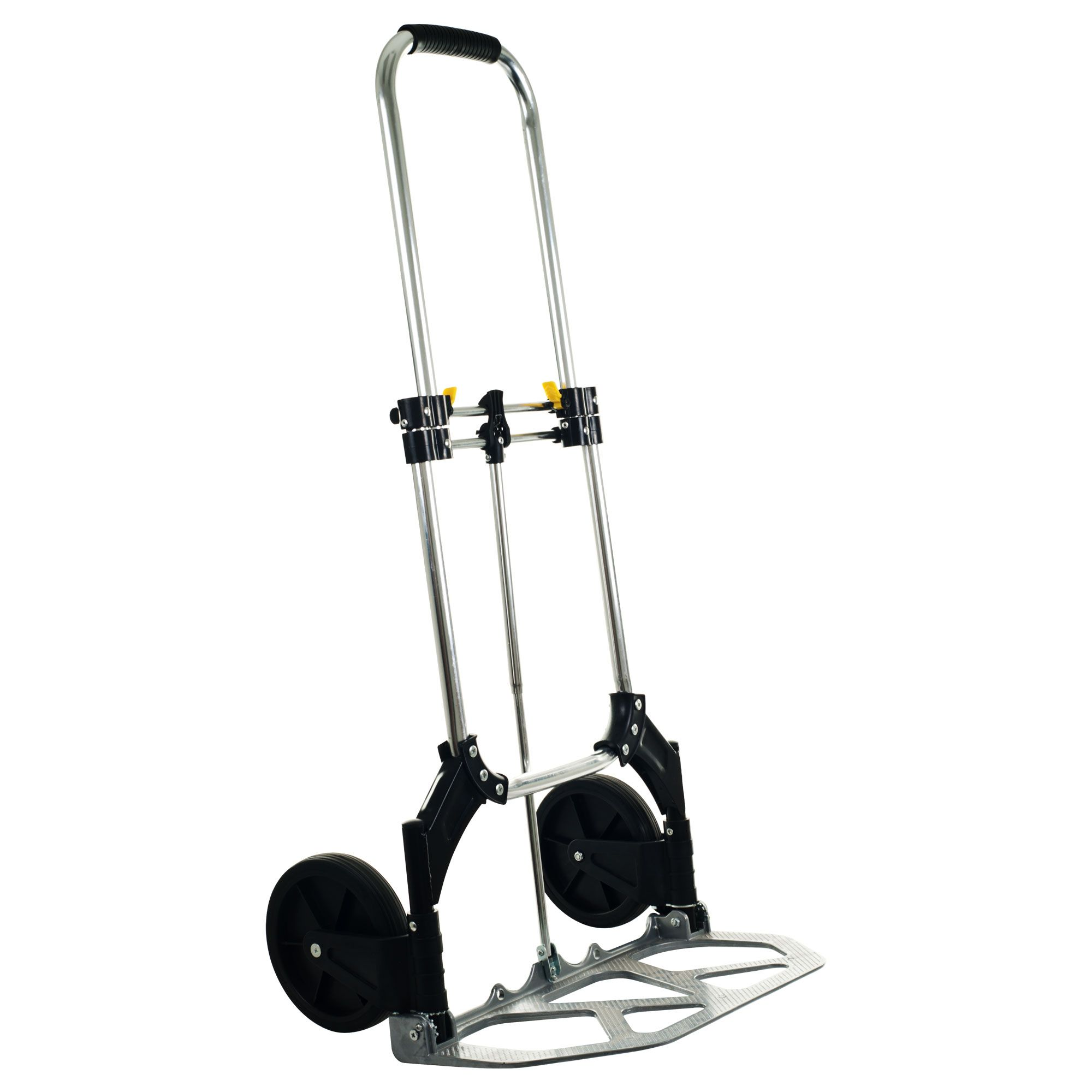Folding Wheeled Hand Cart - 155 lbs. Capacity