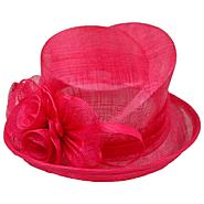 Sierra Accessories Cuff Hat With Flower Fuchsia at Sears.com
