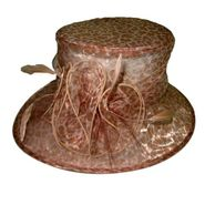 Sierra Accessories Leopard Print Cloche Hat With Floral Accent at Sears.com