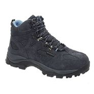 AdTec Women's Suede Leather Steel Toe Hiker Black at Kmart.com