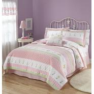 My World Tara Stripe Full / Queen Quilt with 2 Shams at Kmart.com
