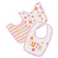 Gerber Infant Girls Terry Bib Set Three Pack at Sears.com