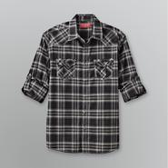 Fly By Night Men's Plaid Roll Cuff Shirt at Sears.com