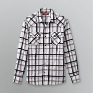 Fly By Night Young Men's Western Plaid Shirt at Sears.com