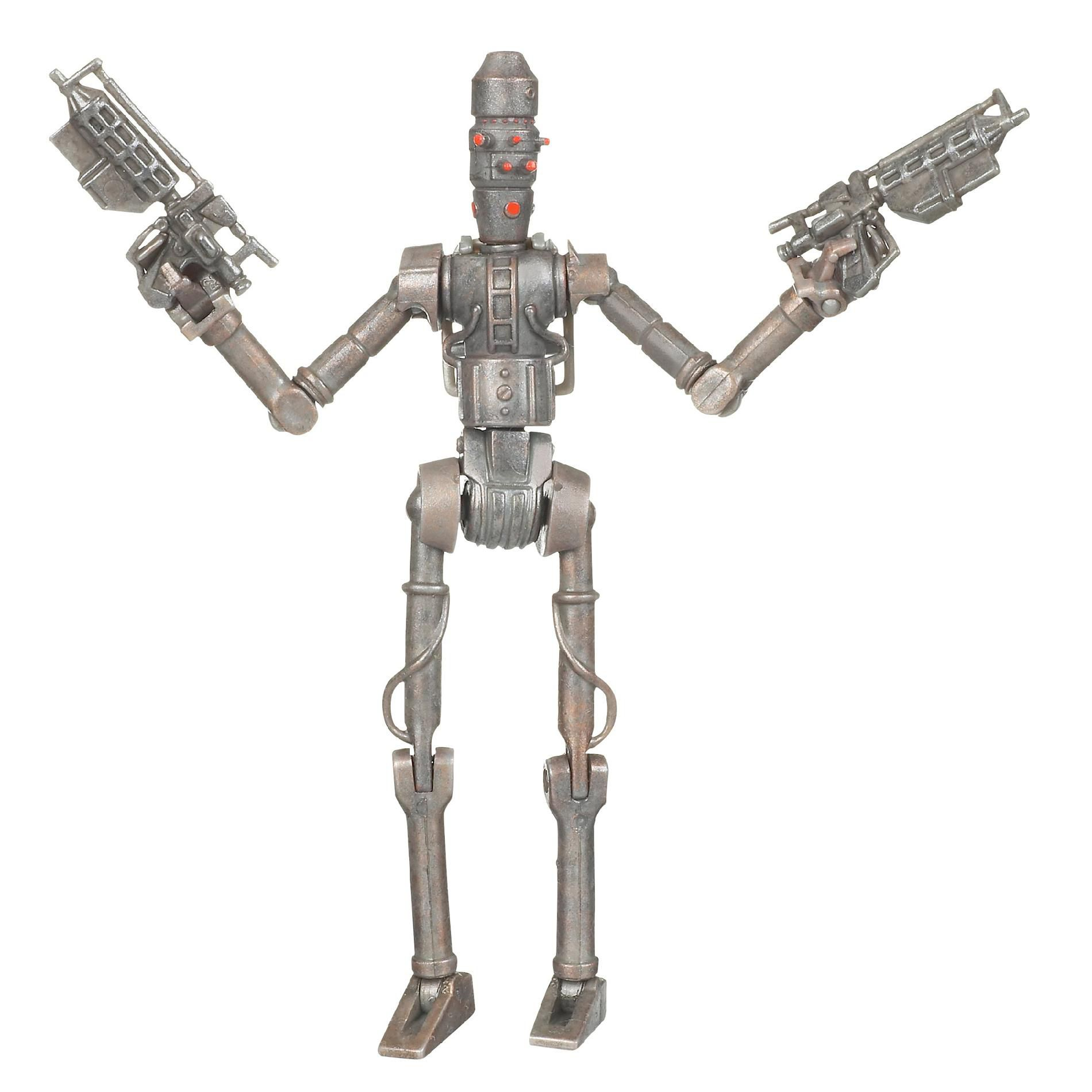 Hasbro Star Wars Clone Wars Animated Action Figure No. 18 IG-86 Assassin Droid PartNumber: 004W024338611024P