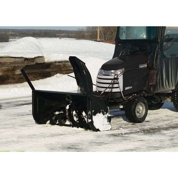 Snow Cab Tractor Attachment