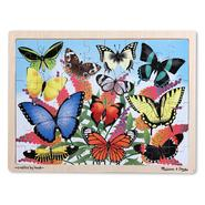 Melissa & Doug Butterfly Garden Wooden Jigsaw Puzzle - 48pc at Sears.com