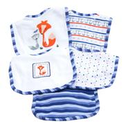 Piccolo Bambino 5 pack Cotton Bib, Boy at Kmart.com
