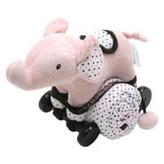 Piccolo Bambino Pull Toy with Baby Quilted Blanket- Pink Elephant at Kmart.com