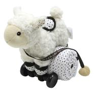 Piccolo Bambino Pull Toy with Baby Quilted Blanket- White Lamb at Kmart.com