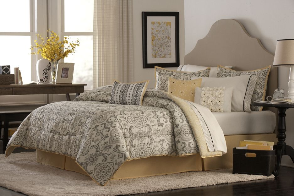 Bedding Collection - Marybeth 4pc Comforter Set