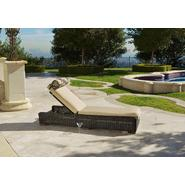 RST Outdoor Resort Collection™ Chaise Lounger in Espresso Rattan at Kmart.com