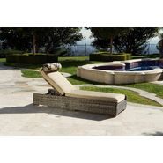 RST Outdoor Resort Collection™ Chaise Lounger in Weathered Gray Rattan at Kmart.com