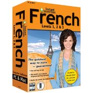 Topics Entertainment Instant Immersion French Levels 1,2 & 3 at Kmart.com