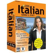 Topics Entertainment Instant Immersion Italian Levels 1,2 & 3 at Sears.com
