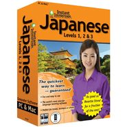 Topics Entertainment Instant Immersion Japanese Levels 1,2& 3 at Sears.com