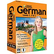 Topics Entertainment Instant Immersion German Levels 1,2 & 3 at Kmart.com