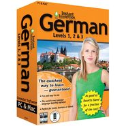 Topics Entertainment Instant Immersion German Levels 1,2 & 3 at Sears.com
