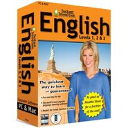Topics Entertainment Instant Immersion English Levels 1,2 & 3 at Sears.com