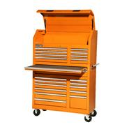 "International 42"" 20-Drawer Ball Bearing Slides Wall Tower Combo Orange at Sears.com"