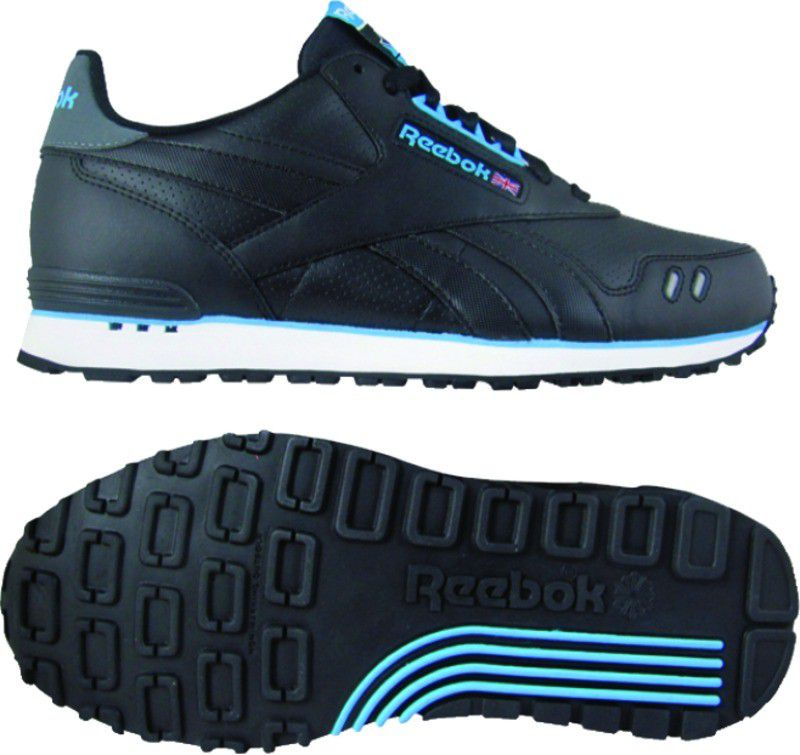 Reebok  Men's Dash Runner Casual Athletic Shoe - Black/Blue/White