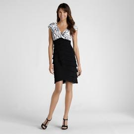 Scarlett Nite Women's Surplice Shutter Pleat Cocktail Dress at Sears.com