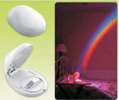 Creative Motion Rainbow Light
