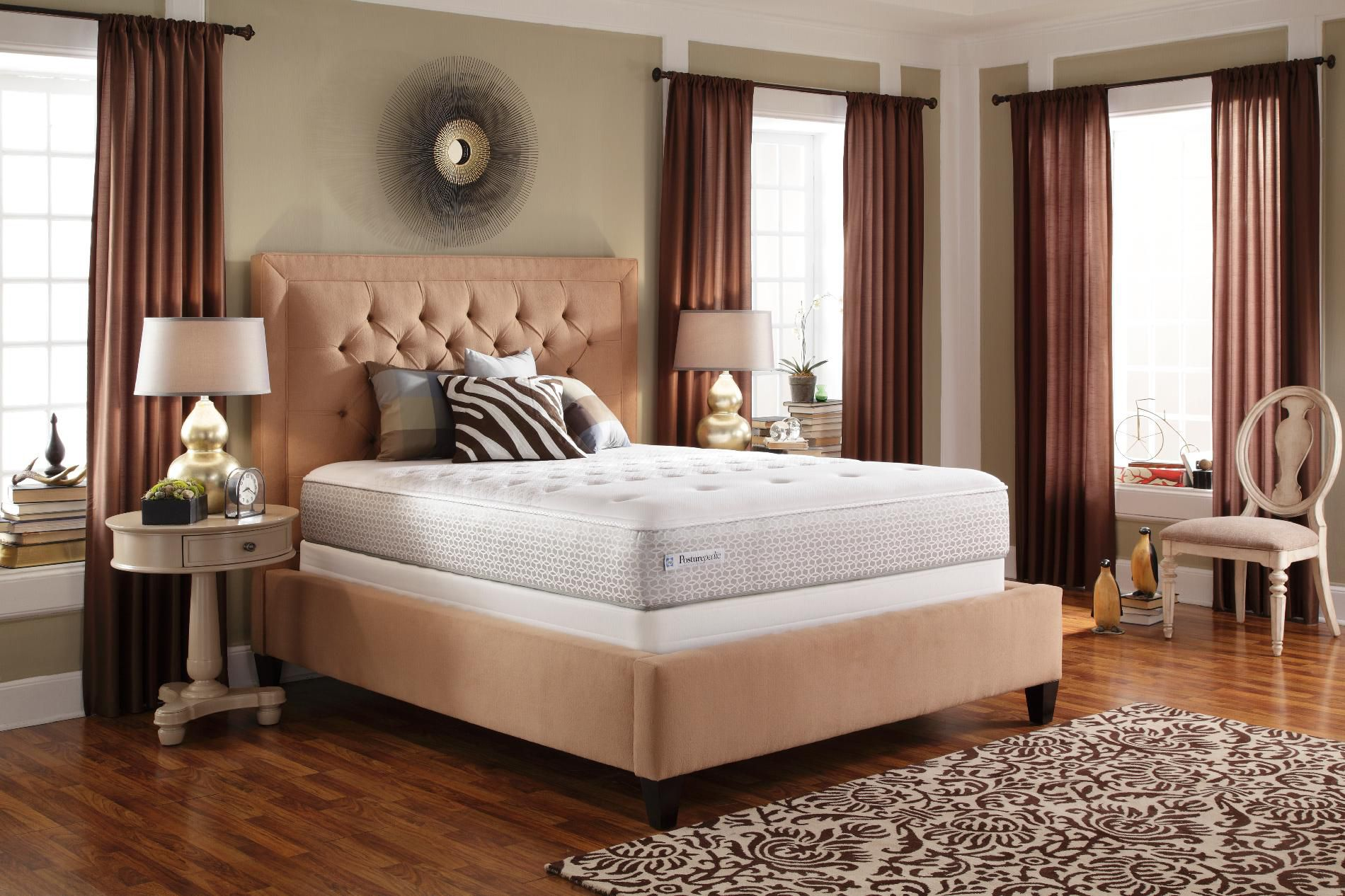 Sealy Cushion firm Queen Innerspring Mattress Find the