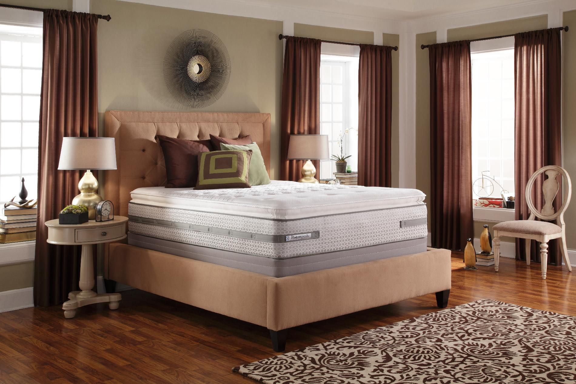 Sealy Posturepedic Gibson TI2  Plush Euro Pillowtop  Queen Mattress Only