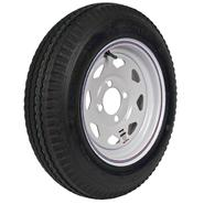 Loadstar 480-12 LRB Trailer Tire and 4-Hole Custom Spoke Wheel at Sears.com