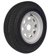 Loadstar Karrier ST205/75D-15 LRC Radial Trailer Tire and 5-Hole Custom Spoke Wheel at Sears.com